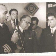 Postales: SAN SEBASTIÁN (GUIPUZCOA) 1952 INAUGURACIÓN DE LA COSTERA DE IGUELDO. FOTO MARÍN.. Lote 183457555
