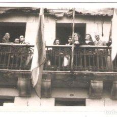 Postales: PASAJES (GUIPUZCOA) OCTUBRE 1963 HOMENAJE A LOS REMEROS DE SAN JUAN. FOTO MARÍN.. Lote 183471011