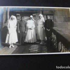 Postales: SAN SEBASTIAN HOSPITAL DE LA CRUZ ROJA MONJA ENFERMERAS Y HERIDOS DE LA GUERRA DE MARRUECOS. Lote 183497795