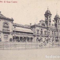 Postales: SAN SEBASTIAN EL GRAN CASINO ED. FOTOTIPIA THOMAS Nº 2264. Lote 183663287