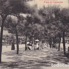 Postales: SAN SEBASTIAN PLAZA CERVANTES ED. FOTOTIPIA THOMAS Nº 2290. Lote 183663578