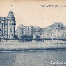 Postales: SAN SEBASTIAN TEATRO REINA VICTORIA ED. FOTOTIPIA THOMAS Nº 11946. Lote 183692693