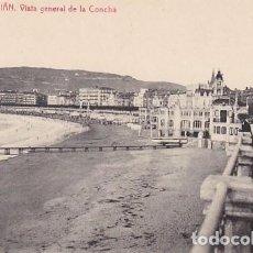Postales: SAN SEBASTIAN VISTA GENERAL DE LA CONCHA ED. FOTOTIPIA THOMAS Nº 2982. Lote 183693142