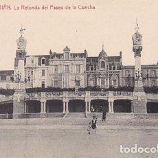 Postales: SAN SEBASTIAN LA RETONDA DEL PASEO DE LA CONCHA ED. FOTOTIPIA THOMAS Nº 2977. Lote 183694172