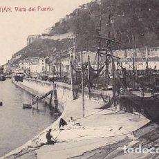 Postales: SAN SEBASTIAN VISTA DEL PUERTO ED. FOTOTIPIA THOMAS Nº 2263. Lote 183694591