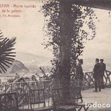 Postales: SAN SEBASTIAN MONTE IGUELDO DETALLE DE LA GALERIA ED. L ROISIN FOT. Nº 15. Lote 183695877
