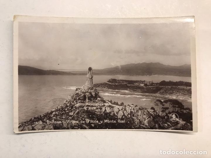 BAYONA. POSTAL NO.1506, VIRGEN DE LA ROCA Y MONTE REAL. EDITA: UNIQUE (A.1931) CIRCULADA (Postales - España - Pais Vasco Antigua (hasta 1939))
