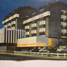 Postales: POSTAL HOTEL TXARTEL.-NOCTURNA LASARTE. Lote 183894167
