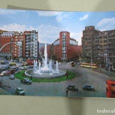 Postales: BILBAO - FUENTE MONUMENTAL DE LA PLAZA ZABÁLBURU - S/C. Lote 184108040