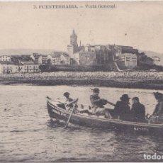 Postales: FUENTERRABIA (GUIPUZCOA) - VISTA GENERAL. Lote 184412010