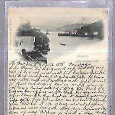 Postales: TARJETA POSTAL. PASAJE, SAN SEBASTIAN. 48. HAUSER YMENET. 1898.. Lote 184703407