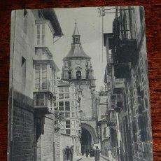 Postales: POSTAL DE VITORIA. LA CATEDRAL. COLECCIÓN ARTÍSTICA. PIO LUIS LARRAÑAGA. ED. HAUSER Y MENET. NO CIRC. Lote 184815747