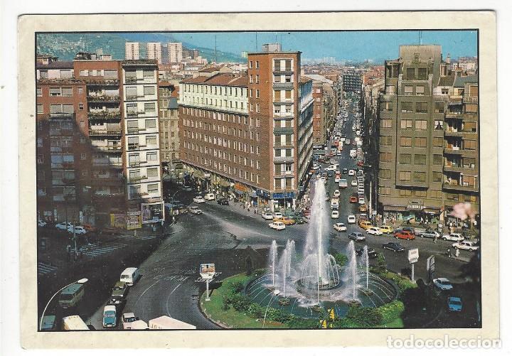 217 - BILBAO.- FUENTE MONUMENTAL DE LA PLAZA ZABALBURU (Postales - España - País Vasco Moderna (desde 1940))