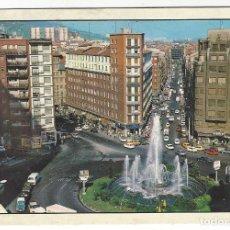 Postales: 217 - BILBAO.- FUENTE MONUMENTAL DE LA PLAZA ZABALBURU. Lote 186316920