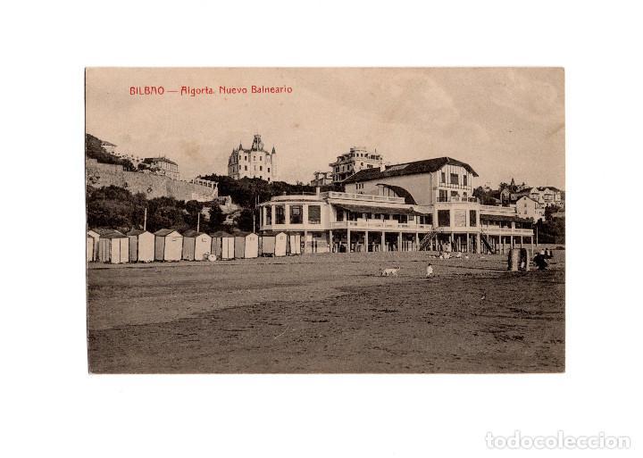 BILBAO.- ALGORTA.- NUEVO BALNEARIO. (Postales - España - Pais Vasco Antigua (hasta 1939))