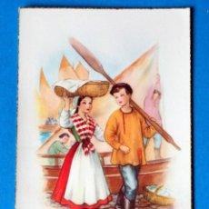 Postales: BONITA POSTAL MUNGUÍA. AÑOS 50. Lote 186413351