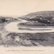 Cartes Postales: SAN SEBASTIAN VISTA GENERAL DESDE ENVUDO ED. MAYOR HERMANOS Nº 74. Lote 187105292