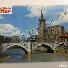 Postales: BILBAO, POSTAL DEL PUENTE DE SAN ANTON, NUMERO 7210. Lote 189238780