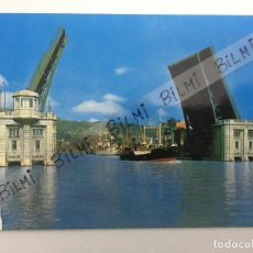 Postales: BILBAO, POSTAL DEL PUENTE DEL GENERALISIMO, NUMERO 7217. Lote 189238796