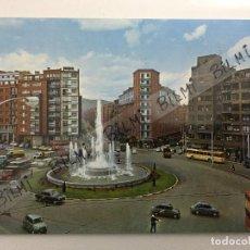 Postales: BILBAO, POSTAL DE LA FUENTE MONUMENTAL DE LA PLAZA ZABALBURU, NUMERO 7268. Lote 189238930