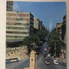 Postales: BILBAO, POSTAL DE LA PLAZA ESPAÑA Y GRAN VIA, NUMERO 17. Lote 189238973