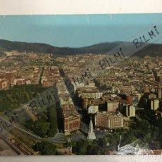 Postales: BILBAO. POSTAL VISTA AEREA GRAN VIA Y SAGRADO CORAZON, NUMERO 443. Lote 189240082