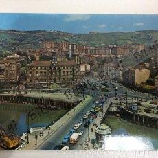 Postales: BILBAO, POSTAL DEL AYUNTAMIENTO Y PUENTE GENERAL MOLA, NUMERO 7258. Lote 189240176