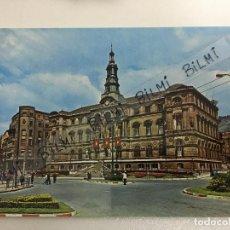 Postales: BILBAO, POSTAL DEL AYUNTAMIENTO, NUMERO 7235. Lote 189240206