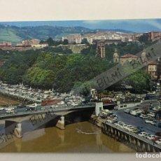 Postales: BILBAO , POSTAL DEL PUENTE DE LA VICTORIA, NUMERO 43. Lote 189240246