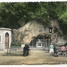 Postales: BILBAO Nº 26. NUESTRA SEÑORA DE LOURDES EN ARCHANDA. EDICIONES MAITE, COLOREADA, NUEVA SIN CIRCULAR. Lote 189492050
