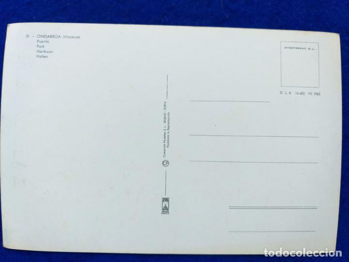 Postales: Postal de Ondarroa. # 31. Puerto. Editorial Paredes. Sin circular - Foto 2 - 189576480