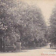 Postales: VITORIA PASEO DE LA FLORIDA ED. THOMAS BARCELONA CIRCULADA EN 1910. Lote 189726910