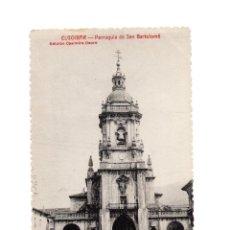 Postales: ELGOIBAR.(GUIPÚZCOA).- PARROQUIA DE SAN BARTOLOME.. Lote 190296578