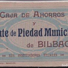 Postales: BILBAO (VIZCAYA) - C.A.M.P.B.- SUS INSTITUCIONES FILIALES - TACO CON 32 POSTALES. Lote 190539045