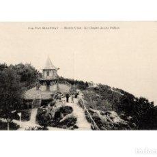 Postales: SAN SEBASTIÁN.(GUIPÚZCOA).- MONTE ULÍA.- EL CHALET DE LAS PEÑAS.. Lote 190827216