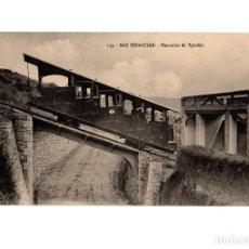 Postales: SAN SEBASTIÁN.(GUIPÚZCOA).- FUNICULAR DEL MONTE YGUELDO.. Lote 190828041