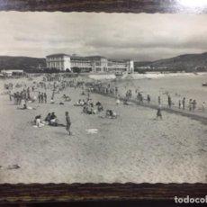 Postales: GORLIZ - SANATORIO Y PLAYA - NÚM. 73 GARCÍA GARRABELLA. Lote 190927032