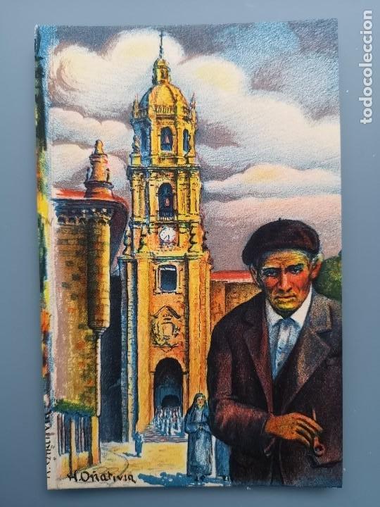 POSTAL SERIE E ILUSTRADOR OÑATIVIA Nº 1 VERGARA EDIC LABORDE Y LABAYEN GUIPUZCOA PAIS VASCO (Postales - España - Pais Vasco Antigua (hasta 1939))