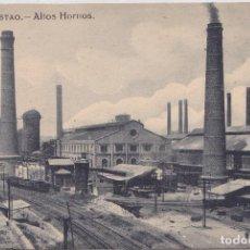 Postales: SESTAO (VIZCAYA) - ALTOS HORNOS - L. G. BILBAO. Lote 191643713