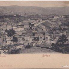 Postales: BILBAO (VIZCAYA) - VISTA DESDE MIRAVILLA. Lote 191644117