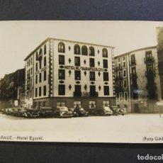 Postales: ZARAUTZ-ZARAUZ-HOTEL EGUSKI-FOTO GAR-POSTAL FOTOGRAFICA ANTIGUA-(66.726). Lote 191739761