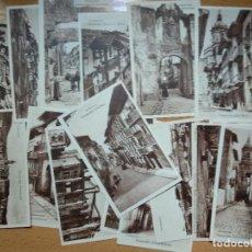 Postales: LOTE 15 POSTALES FUENTERRABIA, LA ESPAÑOLA. Lote 192078796