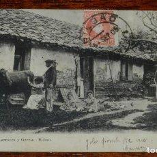 Postales: POSTAL DE BILBAO, ED. FERNANDEZ LARRUCEA Y GARCIA, 7195, CIRCULADA EN 1905.. Lote 192321007