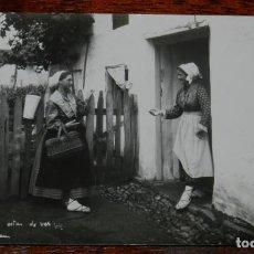 Postales: FOTO POSTAL DE LA ROMERIA DE ZARAUTZ, ZARAUZ, ESCRITA EN 1919, FOTO WILLIAN, NO CIRCULADA.. Lote 192325078
