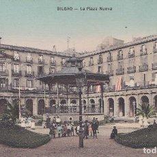 Postales: BILBAO (VIZCAYA) - LA PLAZA NUEVA. Lote 192635876