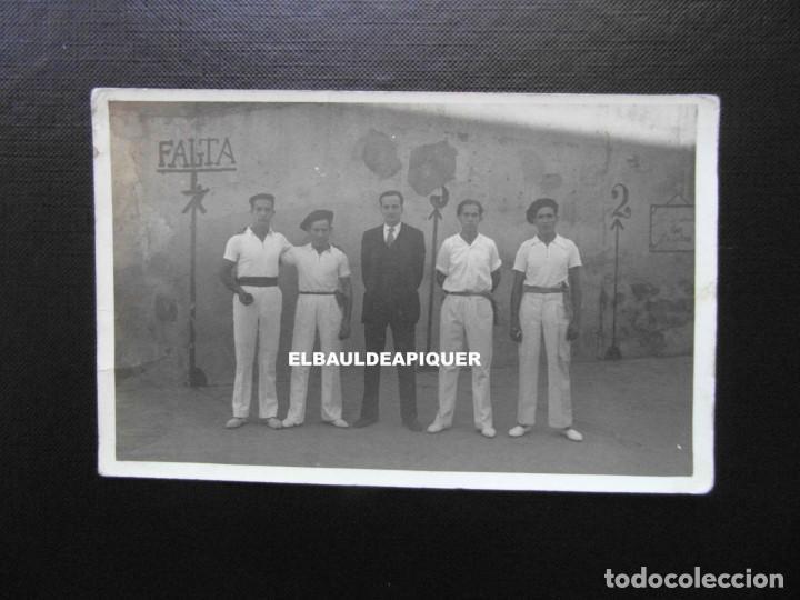 PELOTARIS. PELOTA VASCA. PAIS VASCO. CCTT (Postales - España - Pais Vasco Antigua (hasta 1939))