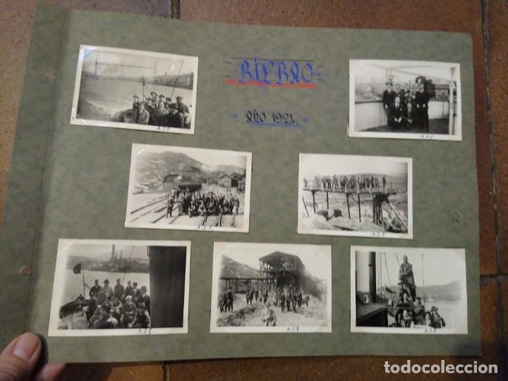 LOTE 7 FOTOGRAFIAS1926 GRUPO DE INGENIEROS DE CAMINOS. FOTOS DE 6,50 X 6 CM BILBAO (Postales - España - Pais Vasco Antigua (hasta 1939))
