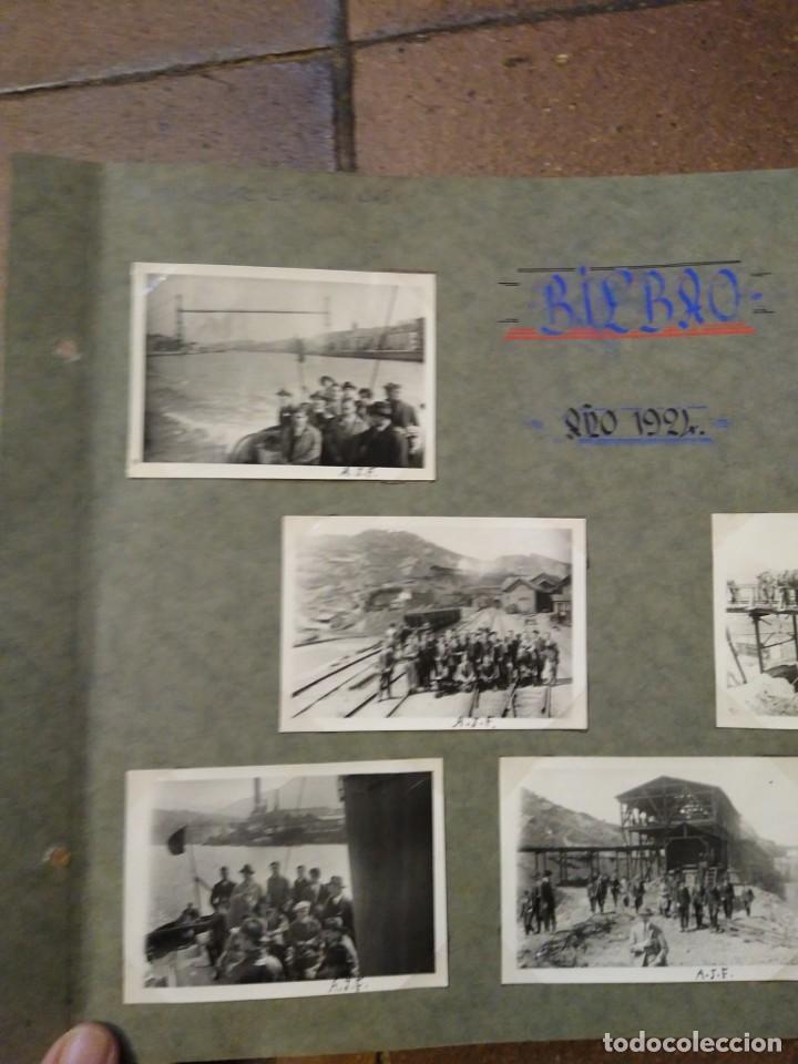 Postales: Lote 7 fotografias1926 Grupo de ingenieros de caminos. Fotos de 6,50 x 6 cm Bilbao - Foto 2 - 193987076