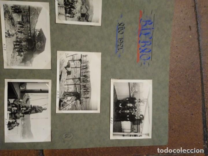 Postales: Lote 7 fotografias1926 Grupo de ingenieros de caminos. Fotos de 6,50 x 6 cm Bilbao - Foto 3 - 193987076