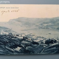 Postales: POSTAL ZUMAYA Nº 4 DESDE SANTA CLARA EDIC LUIS OLAIZOLA GUIPUZCOA SAN SEBASTIAN PERFECT CONSERVACION. Lote 194028890